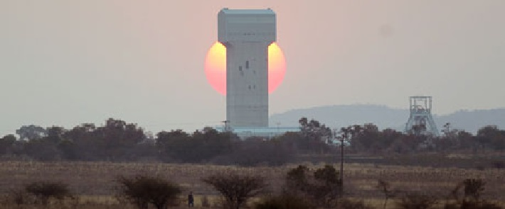 Rustenburg South Africa  city images : Lonmin mine near Rustenburg South Africa