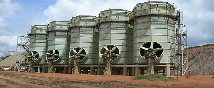 IWC's slurry cooling towers excel in copper mining conditions