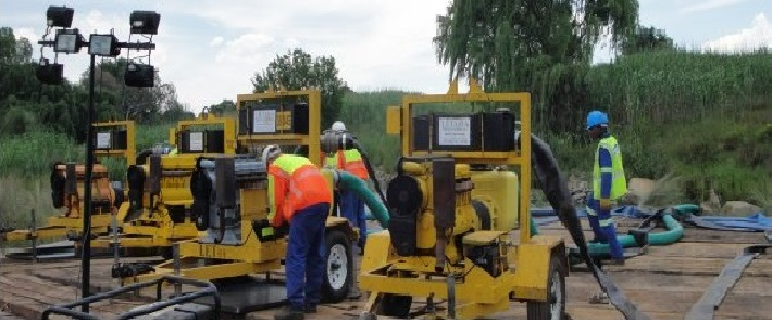 Letaba Dewatering launches new pumps at Electra Mining