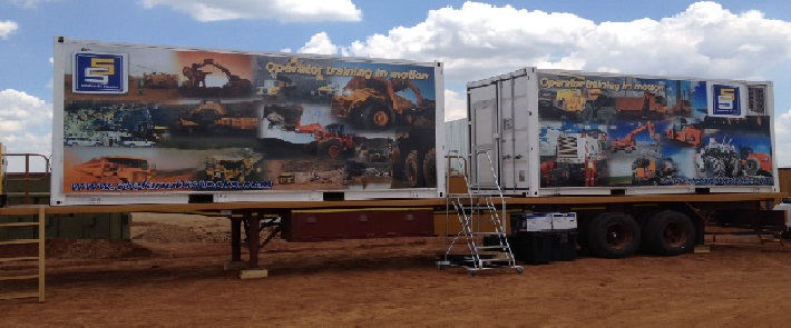 Stefanutti Stocks - One of two Stefanutti Stocks' simulator sets that will provide heavy plant operators with theory and simulator training both within South Africa and across the border