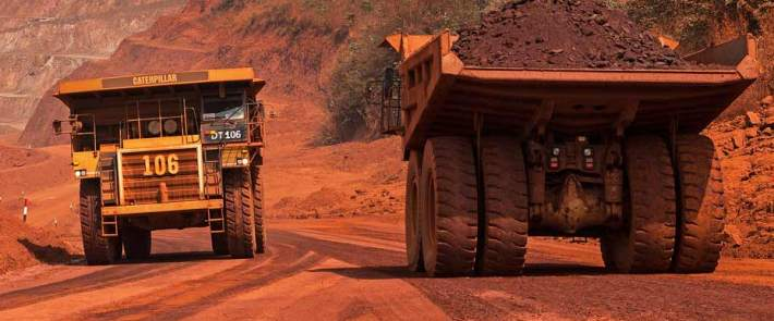 African Minerals' Tonkolili mine in Sierra Leone was put on care and maintenance after iron ore prices halved