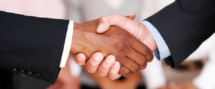 Handshake mergers and acquisitions