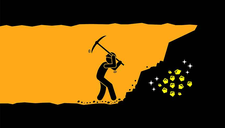 Top 10 mining companies act as a proxy for the performance of the