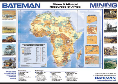 Mines and mineral resources of Africa Miningreviewcom